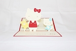 3D Birthday Hello Kitty, Greeting Card, GAS_0029