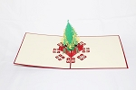 3D Christmas Tree, Greeting Card, GAS_0063