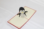 3D Penguin, Greeting Card, GAS_0245