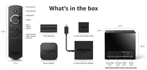 Amazon Fire TV Cube Content
