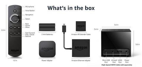 Amazon Fire TV Cube Content