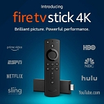 Amazon Fire TV Stick 4k with Alexa Voice Remote Jailbroken Unlocked Fully Loaded Firestick