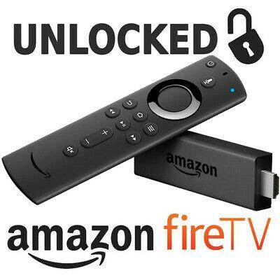 Amazon FireStick 4K Jailbroken Unlocked Fully Loaded with Alexa Voice Remote