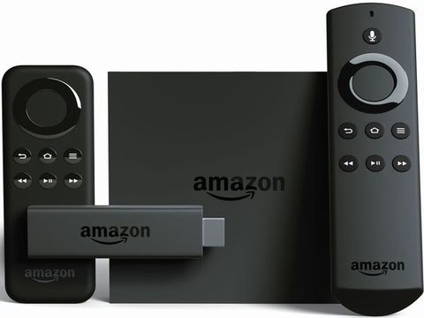 Amazon Fire TV Stick and Box