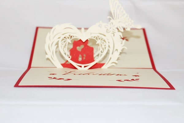 3d love couple greeting card gas 0036