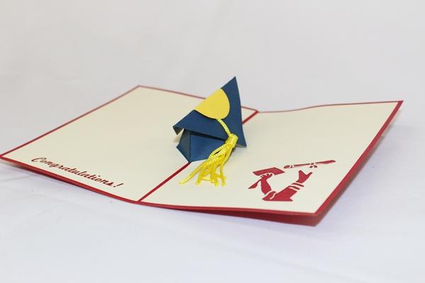 origami graduation hat gallery handicraft items from