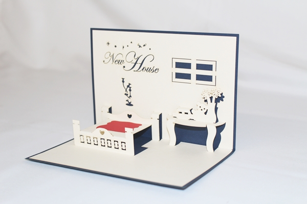 3d new house greeting card gas0205 quick view m4hsunfo