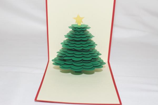 3d Christmas Tree.3d Christmas Tree Greeting Card Gas 0251