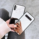 Crystal Mirror Shockproof Slim Cover Case Samsung Galaxy S10 / S10 Plus / S10 Edge
