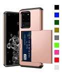 Card Slot Tough Armor Wallet Design Case Samsung Galaxy S20 / S20 Plus / S20 Ultra