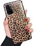 Leopard Print Pattern Wildcat Series Soft Rubber Case Cover Samsung Galaxy S20 / S20 Plus / S20 Ultra