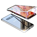 Magnetic Adsorption Metal Case With Tempered Glass Samsung Galaxy S9 or S9 Plus