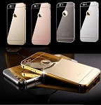 Mirror Aluminum Metal Bumper Case Apple iPhone 5 or 5s
