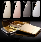 Mirror Aluminum Metal Bumper Case Apple iPhone 6s or 6s Plus