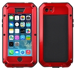 Gorilla Glass Aluminum Alloy Heavy Duty Shockproof Case Apple iPhone 6s or 6s Plus