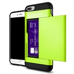 Card Slot Tough Armor Wallet Design Case Apple iPhone 7 or 7 Plus