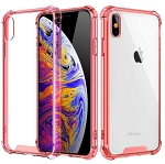 Rugged Edges Transparent Silicone Gel Case Cover Apple iPhone 7 or 7 Plus