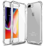 TPU Clear Transparent Soft Silicone Gel Case Cover Apple iPhone 8 or 8 Plus