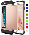Card Slot Tough Armor Wallet Design Case Apple iPhone SE 2020 (Gen2)