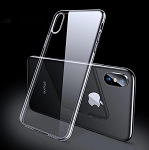 TPU Clear Transparent Soft Silicone Gel Case Cover Apple iPhone X, XS, XR, or XS Max
