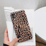 Leopard Print Pattern Wildcat Series Soft Rubber Case Cover Apple iPhone X, XS, XR, or XS Max