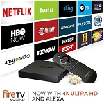 Amazon Fire TV Box 4K Jailbroken Unlocked with Kodi Xbmc Fully Loaded