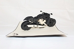 3D Motorcycle, Greeting Card, GAS_0012