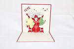 3D Love Couple, Greeting Card, GAS_0016