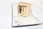 3D Closet With Clothes, Greeting Card, GAS_0022
