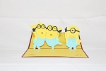 3D Birthday Minion, Greeting Card, GAS_0033