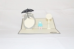 3D Birthday Totoro, Greeting Card, GAS_0034