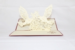 3D Love Doves, Greeting Card, GAS_0039