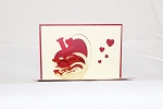 3D Love Letters Heart, Greeting Card, GAS_0044