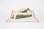 3D Great Wall Of China, Greeting Card, GAS_0076