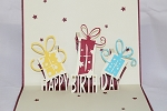 3D Happy Birthday Gift, Greeting Card, GAS_0108