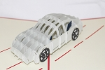 3D Car, Greeting Card, GAS_0110