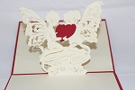 3D Angels with Heart, Greeting Card, GAS_0116