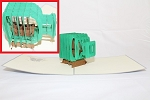 3D Ship in a Bottle, Greeting Card, GAS_0140
