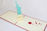 3D Statue Of Liberty, Greeting Card, GAS_0143