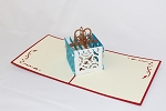 3D Birthday Gift Box, Greeting Card, GAS_0151