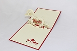 3D Thank You Heart, Greeting Card, GAS_0163