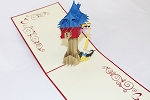 3D Rapunzel, Greeting Card, GAS_0167