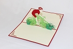 3D Bicyclist, Greeting Card, GAS_0180