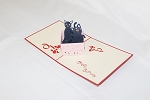3D Cats In Box, Greeting Card, GAS_0189