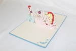 3D Mermaid, Greeting Card, GAS_0191