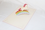 3D Unicorn, Greeting Card, GAS_0193