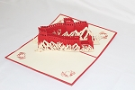 3D Great Wall, Greeting Card, GAS_0194