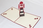 3D Light House, Greeting Card, GAS_0196