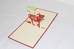 3D Vietnamese Cow Boy, Greeting Card, GAS_0204