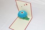 3D Daisy, Greeting Card, GAS_0222